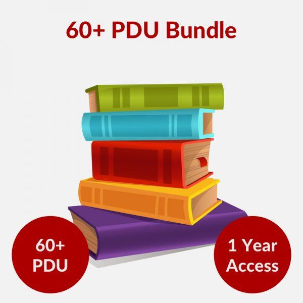 60 PMP PDU Bundle Online Course